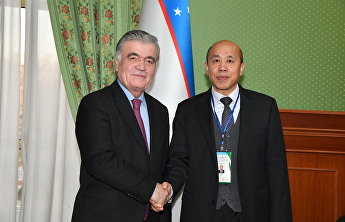 SCO Deputy Secretary-General meets with First Deputy Foreign Minister of Uzbekistan
