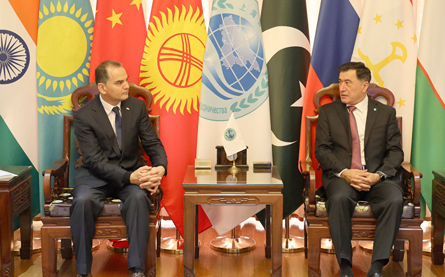 SCO Secretary-General meets with Turkmenistan's Ambassador to China