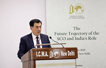 SCO Secretary-General spoke at the Indian Council of World Affairs