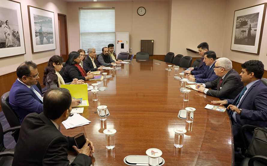 SCO Secretary-General meets with senior ISA officials