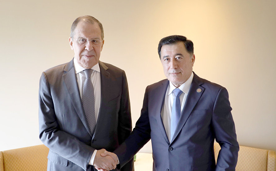 SCO Secretary-General meets with Russian Foreign Minister Sergei Lavrov
