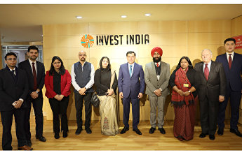 SCO Secretary-General meets with representatives of Indian companies specialising in startups and e-trade