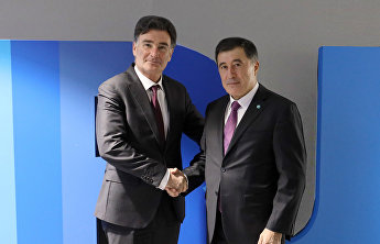 SCO Secretary-General's meeting with Secretary General of the International Road Transport Union