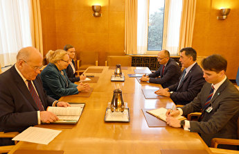SCO Secretary-General meets with Director-General of the UN Office in Geneva Tatiana Valovaya