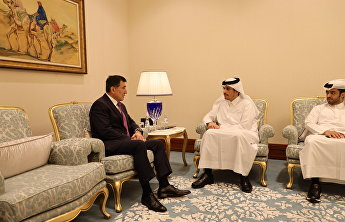 SCO Secretary-General meets with Deputy Prime Minister, Foreign Minister of the State of Qatar Mohammed bin Abdulrahman Al-Thani