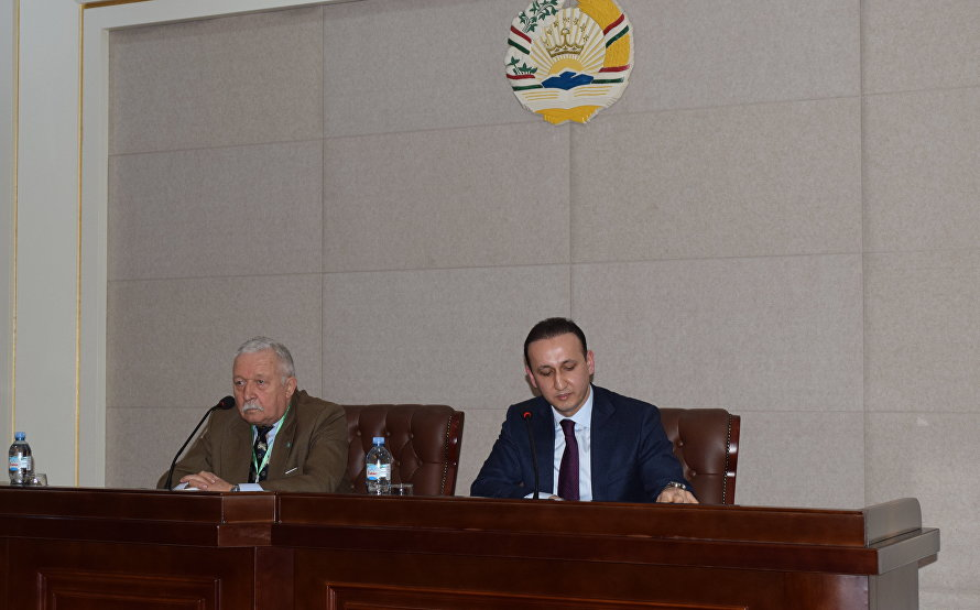 Head of SCO Observer Mission meets with Deputy Foreign Minister of Tajikistan