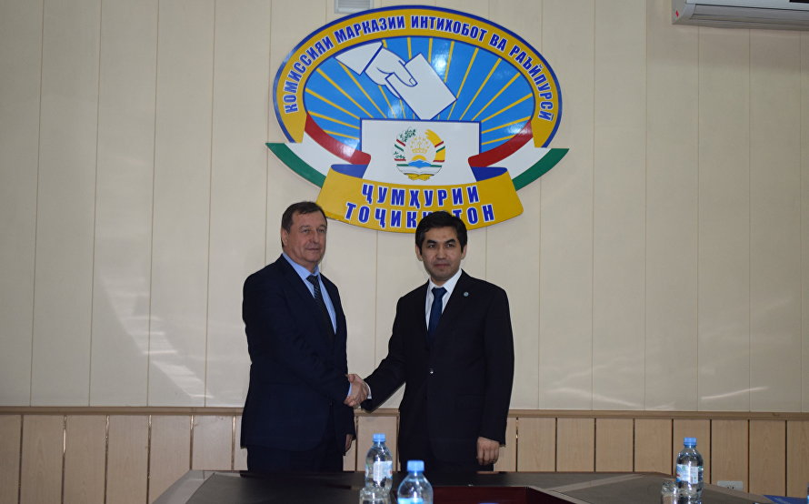 Head of SCO Observer Mission meets with Chairman of Tajikistan's Central Commission for Elections and Referenda