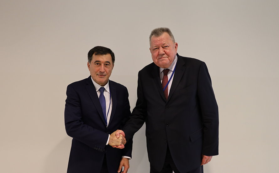 Meeting with Russian Deputy Foreign Minister Oleg Syromolotov