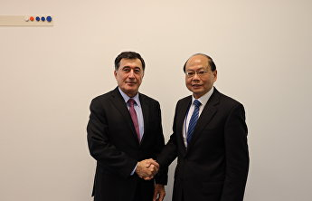 SCO Secretary-General meets with deputy director of China National Narcotics Control Commission