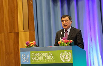 SCO Secretary-General addresses 63rd session of UN Commission on Narcotic Drugs