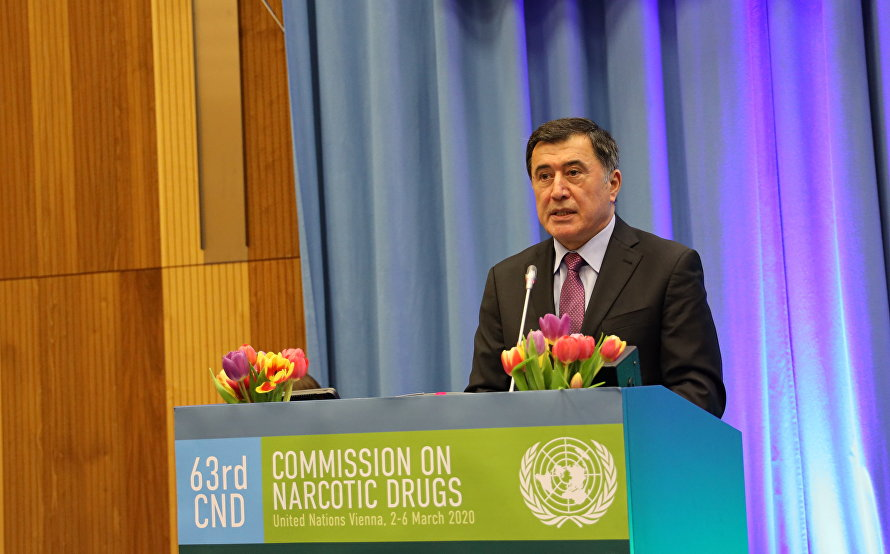 A plenary meeting of the 63rd session of UN Commission on Narcotic Drugs
