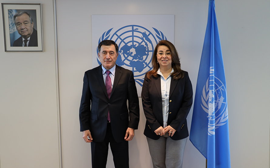 SCO Secretary-General meets with new UNODC Executive Director