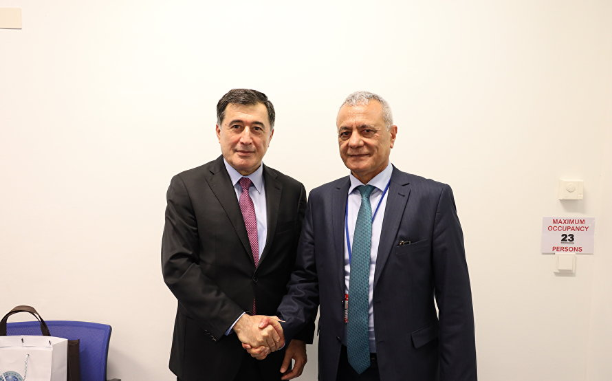 SCO Secretary-General meets with Afghan Deputy Minister of the Interior