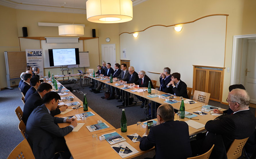 Speech by SCO Secretary-General Vladimir Norov at the roundtable discussion in the Austrian Institute for European and Security Policy