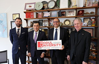 SCO Secretary-General meets with President of MODUL University Vienna