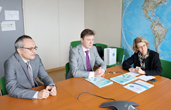 SCO Secretary-General meets with Paris Pact coordinator