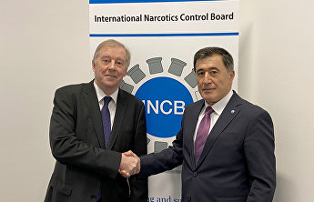 SCO Secretary-General met with President of International Narcotics Control Board