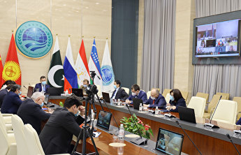 SCO holds the first meeting via videoconference