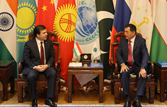 SCO Secretary-General meets with Ambassador of Tajikistan to China Parviz Davlatzoda
