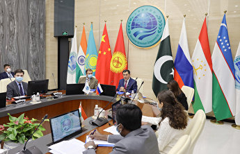 A series of meetings of the permanent representatives at the SCO Secretariat
