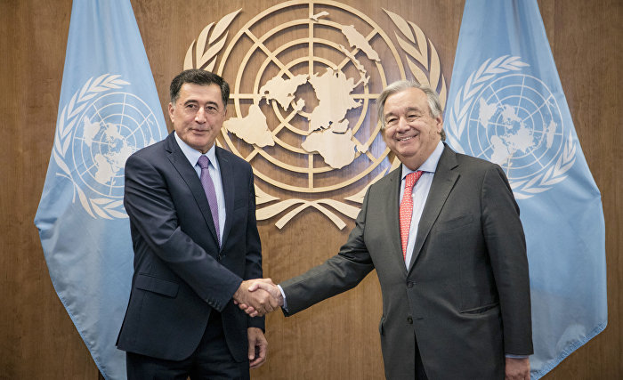 UN Secretary-General praises efforts by SCO member states to counter COVID-19