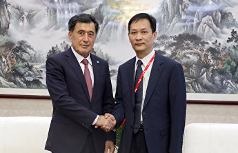 SCO Secretary-General meets with Jingdong vice-president