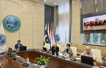 SCO Secretary-General takes part in dialogue of Central Asian research centres