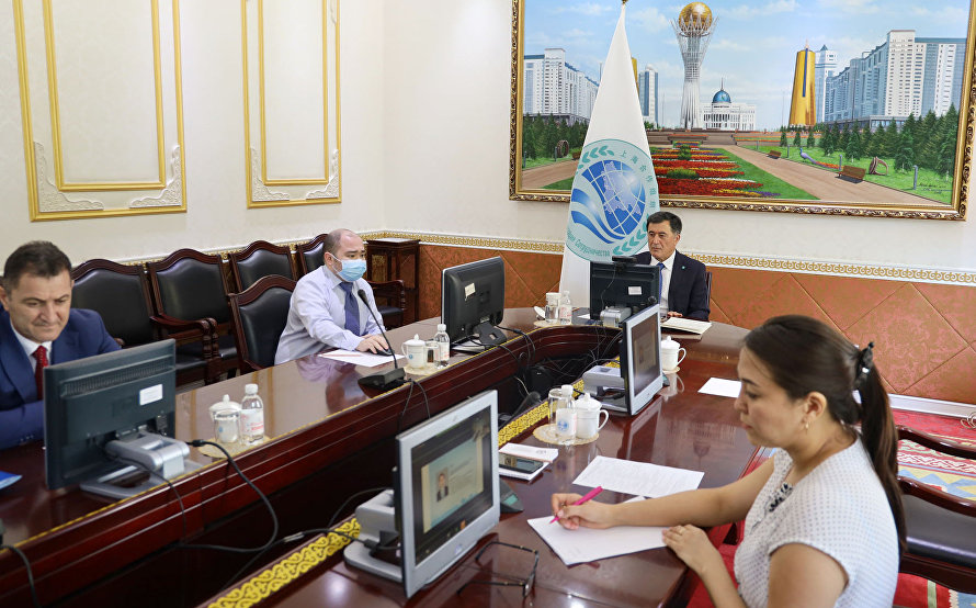 SCO Secretary-General attends webinar on mutual assistance and exchange of information on the fight against COVID-19