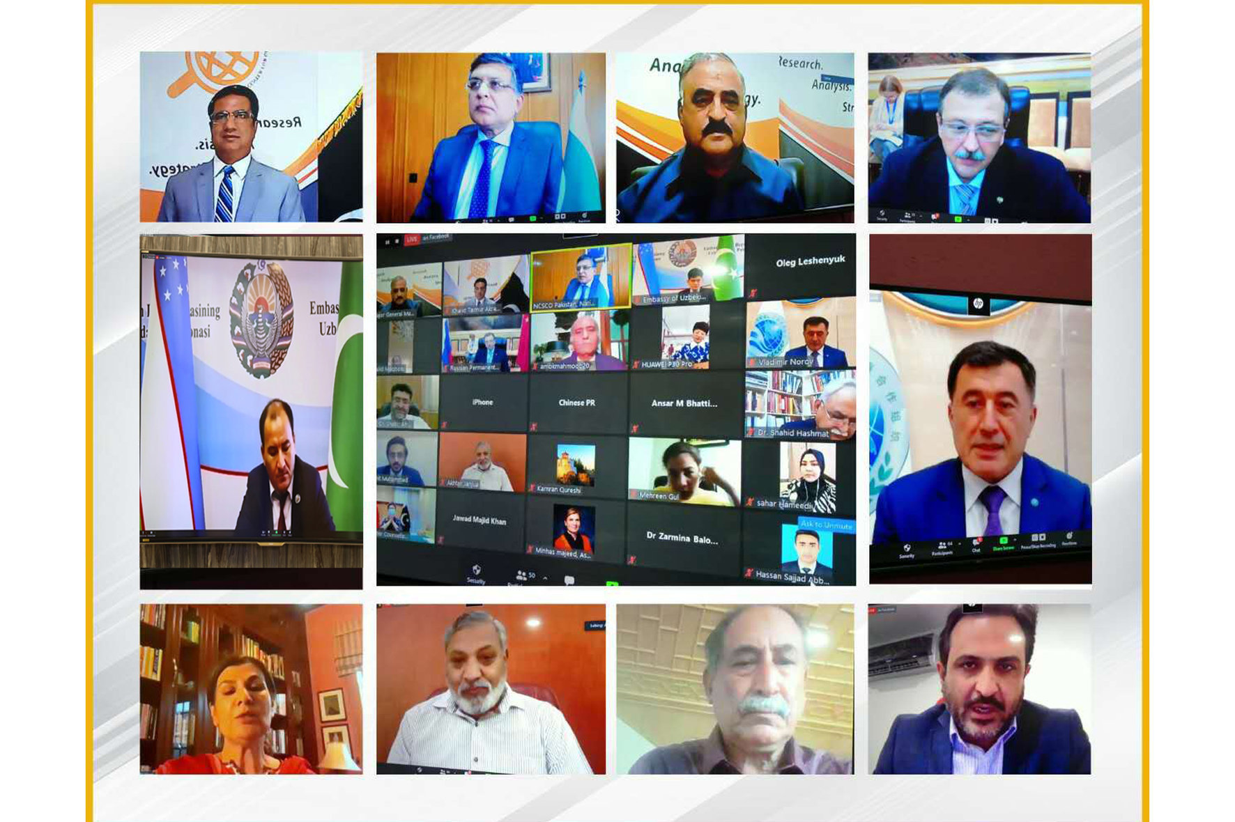 SCO Secretariat and Pakistani Centre for Global & Strategic Studies hold a webinar