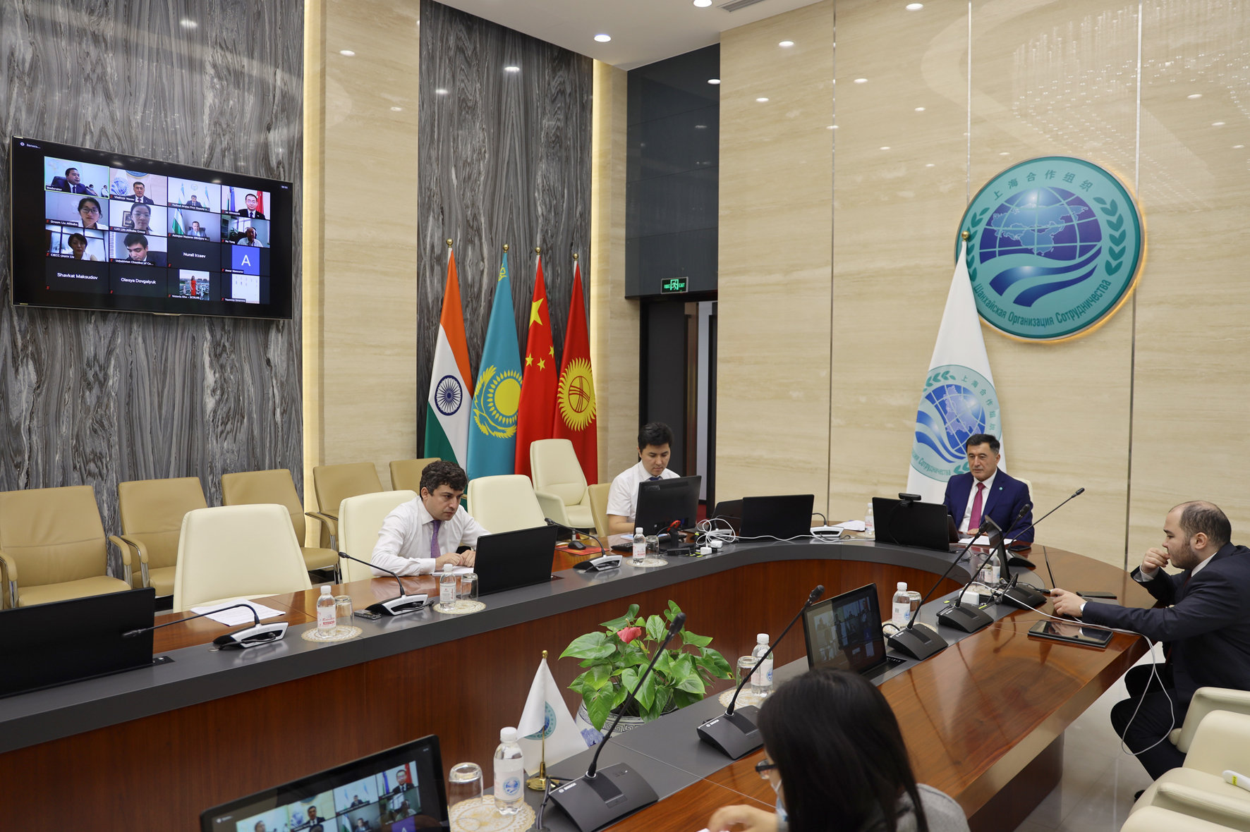 SCO Secretary-General takes part in a videoconference on SCO digital economy and e-commerce in COVID-19 environment
