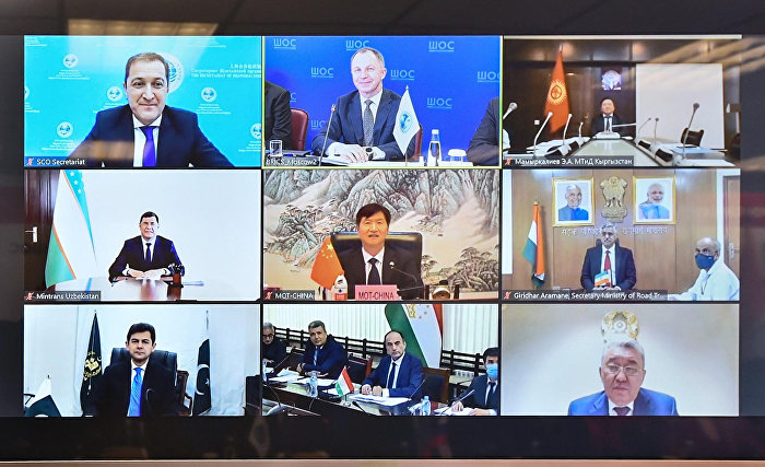 Eighth meeting of SCO Ministers of Transport