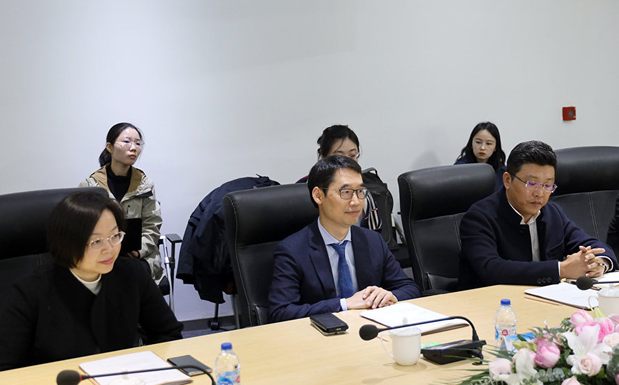 SCO Secretariat delegation visited the head office of Xiao-i