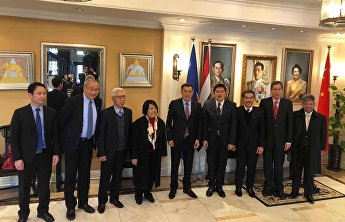 SCO Secretary-General Vladimir Norov had a meeting with the ambassadors of the ASEAN member states to China